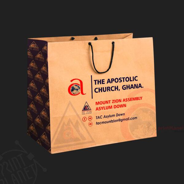 Takeaway-Paper-Bag-Brown at Print Planet Ghana