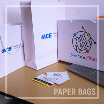 Get a custom Paper Bag as low as 1ghc. Choose from various sizes and design